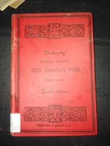 Stručný přehled dějin literatury české