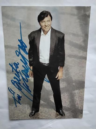 Autogram podpis Gott Karel - Ostatní