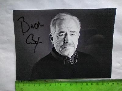 Autogram podpis Cox Brian (Červený drak, X-men, Statečné srdce)