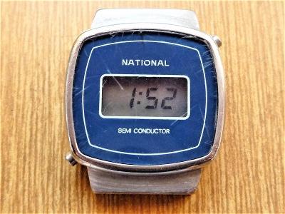 Náramkové hodinky NATIONAL quartz #418-49