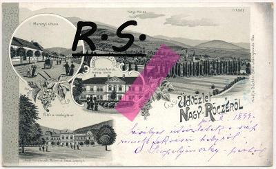 Revúca , Nagyrőce 1899 , /4206/