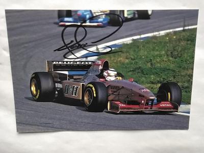 Autogram podpis Mansell Nigel