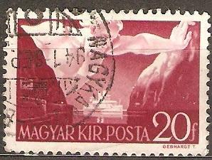 Madarsko 1941 Mi 662 ine raz.