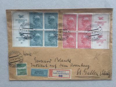 ČSR - Švýcarsko 1937 letecké