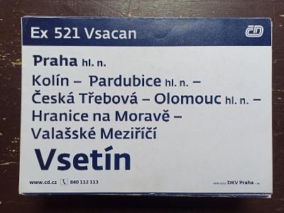 Směrová cedule Ex 521/520 VSACAN