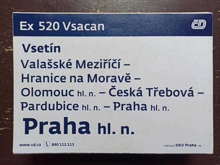 Směrová cedule Ex 521/520 VSACAN - Ostatní