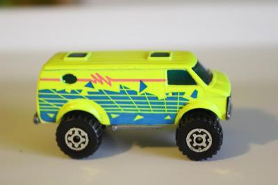 Matchbox SF - 4x4 Chevy Van