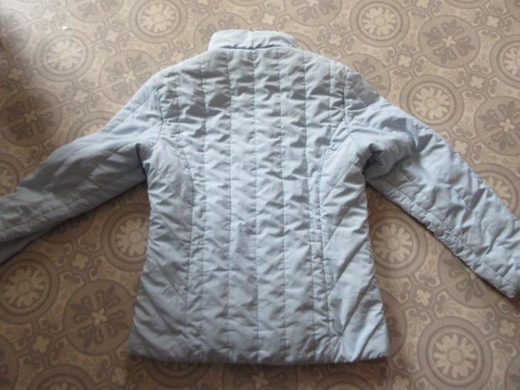 bunda  modrá slabší - Dámské oblečení