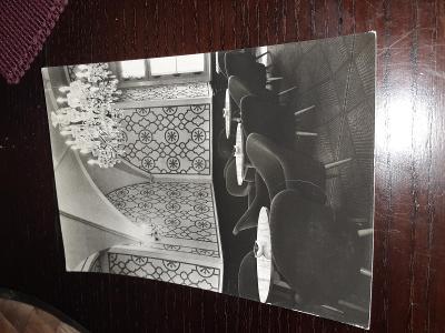Pohlednice z roku 1965 Hrubá Skála  - zámek, prošlé poštou.