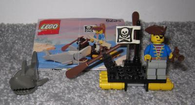 Lego 6234 Piráti, Pirátský vor z 90 let