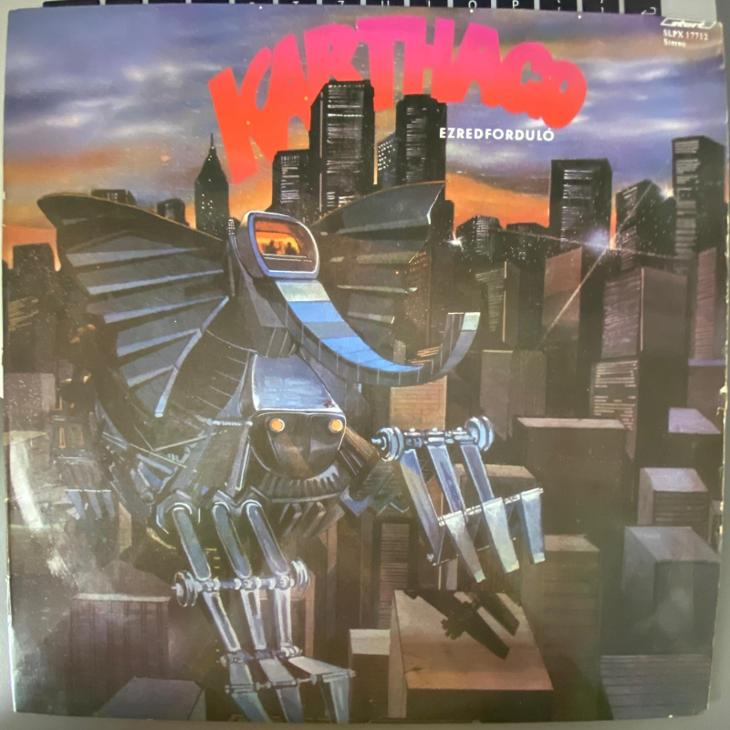 Karthago – Ezredforduló - LP vinyl - Hudba