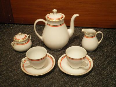 starý porcelánový  servis