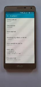 # Mobilní telefon Samsung Galaxy A7 (A700) Dual SIM GOLD - A235