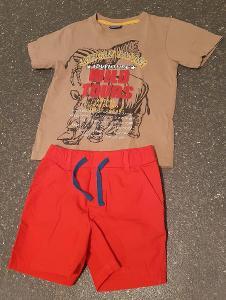 Setík tričko + kraťasy vel. 98-104