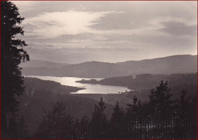 Lipno * jezero, krajina, hory * Český Krumlov (Šumava) * V1099