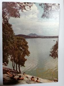 Pohled Máchovo jezero 600 let