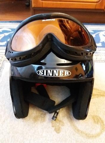Lyžařská helma Sinner s brýlemi Blizzard