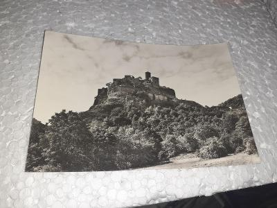 Pohlednice hrad Střekov,neprošlé poštou.