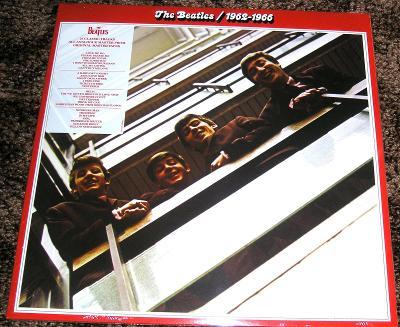 2LP THE BEATLES : 1962-1966, ZCELA NOVÉ VE FÓLII, REMASTERING !