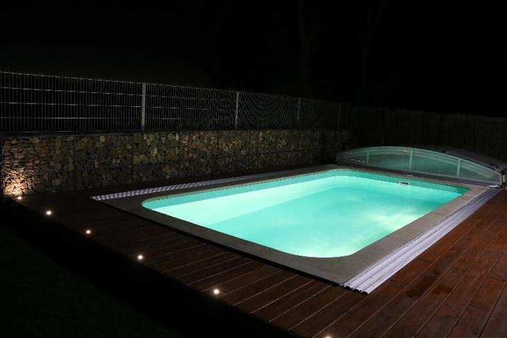 Plastový bazén 5x3x1,5 - VÝPRODEJ - Zahrada