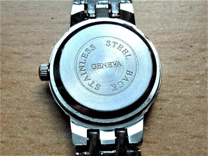 Náramkové hodinky GENEVA quartz #207-32 - Starožitnosti