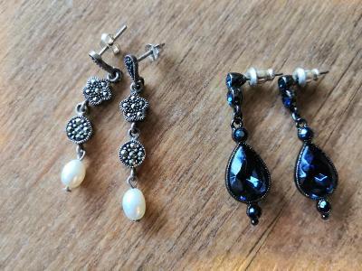 šperky - náhrdelníky, naušnice aj - mix