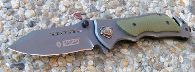 Zavírací záchranářský nůž Kandar orel - 21/12 cm