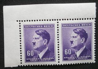 Č + M  LH roh. 2páska kat. č.  82** Hitler