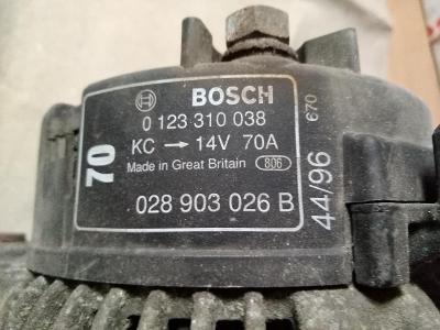 Alternátor - Bosch