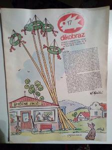 Časopis, Dikobraz, č. 17/1987, zachovalý stav