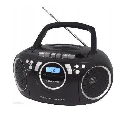 Rádio BOOMBOX Blaupunkt BB16BK CD MP3 USB kazeta