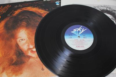 Straight Shooter – My Time - Your Time LP 1980 vinyl D Hard Rock EX