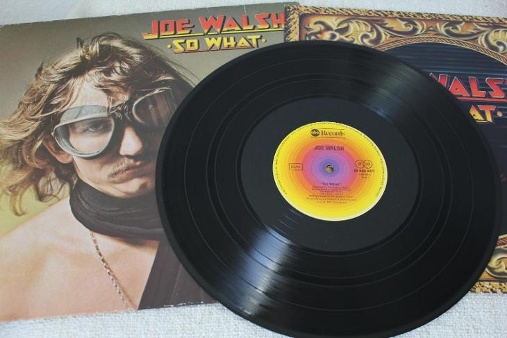 Joe Walsh – So What LP 1975 vinyl D Hard Rock ex Eagles super stav - Hudba