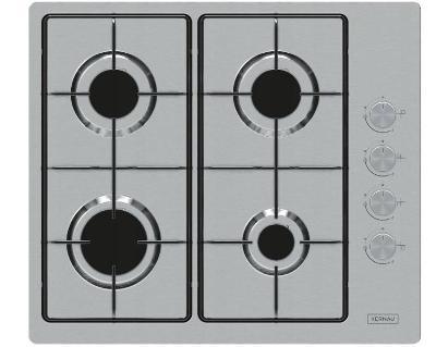 Plynová deska hořáky KERNAU KGH 6482 X 4