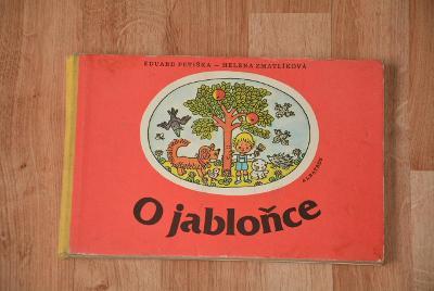 dětská kniha - O Jabloňce 1970