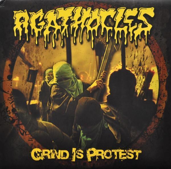 AGATHOCLES - Grind is Protest LP - Hudba