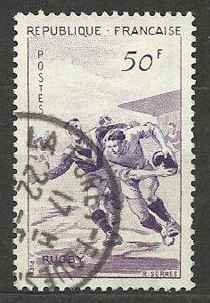Francie razítkované, r. 1956, Mi.1102