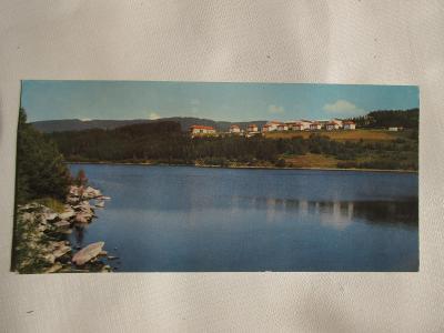 Starý pohled Lipenské jezero 1975 ČSSR
