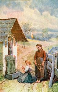 Velikonoční pozdrav - Polní pošta / Feldpost ***