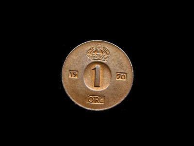 Švédsko - 1 Öre 1970