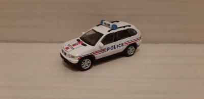 Cararama 1:72, BMW X5, Police, dovoz, Abrex