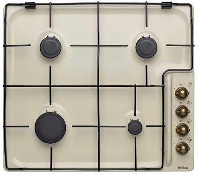 Plynový Deska talíř Amica PG 7521 slonová kost 7,4 kW!