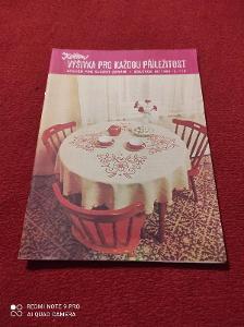 Časopis květen / vyšívání 1985/110
