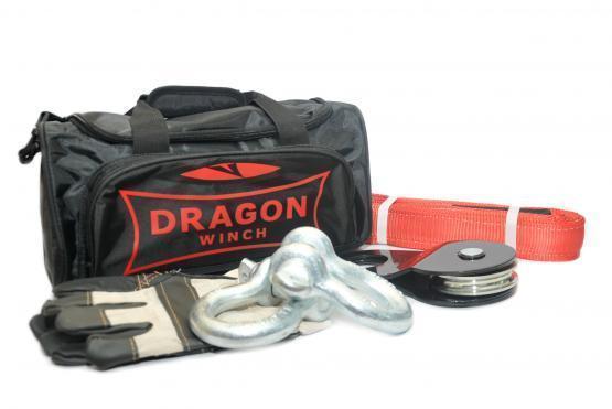 DRAGON WINCH BAG + 3M pásek 2X SKLO 7/8 8T RUKÁVY - Nářadí