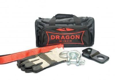 DRAGON WINCH BAG + 3M PÁS 2X SKLO 5/8 4T ATV