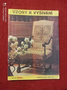 Časopis květen / Vzory k vyšívání 1985/109