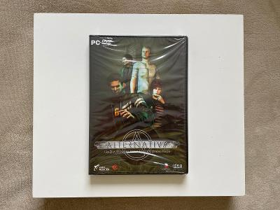 PC hra Alternativa - počítačová hra, adventura DVD-ROM (nová ve fólii)