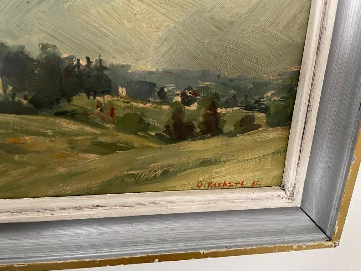 Oldřich Kerhart - Umění