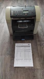 Tiskárna HP LaserJet 3015 - vadný tisk
