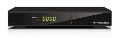 4K satelitní přijímač Cryptobox 800 UHD - čte všechny karty včetně M7
